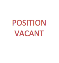 Red text reading position vacant